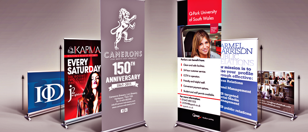 northview creative pull up banners