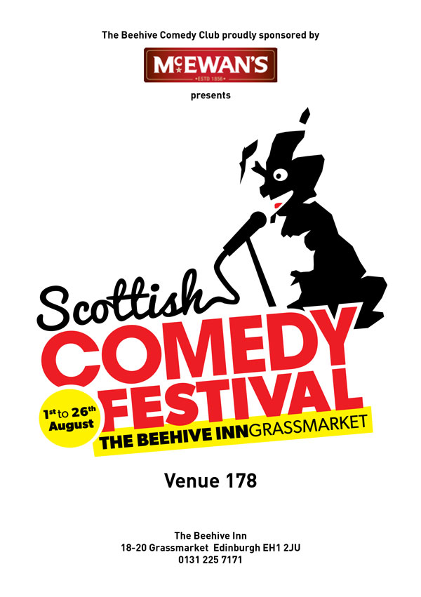 39013 THE BEEHIVE INN EDIN COMEDY CLUB POS 1